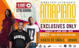 Kabza De Small & Dinho – Amapiano Lockdown Session