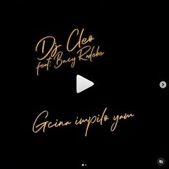 Dj Cleo Ft Bucy Radebe – Gcina Impilo Yami